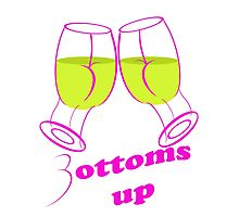 bottoms up Photographic Print