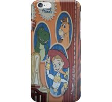 Disney Toy Story Pixar Toy Story Characters Jessie Buzz Lightyear Woody iPhone Case/Skin