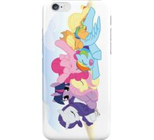 Sleepy Ponies with Background iPhone Case/Skin
