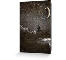 Mother & Son Through Storm Greeting Card