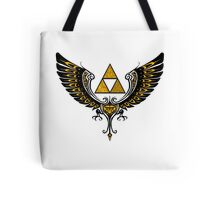 Tri Winged Tote Bag