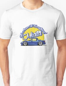 Miata - The Answer To Everything Unisex T-Shirt
