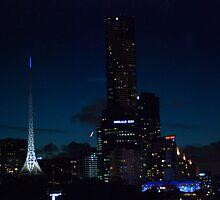 Melbourne Blue by Kotchka Images