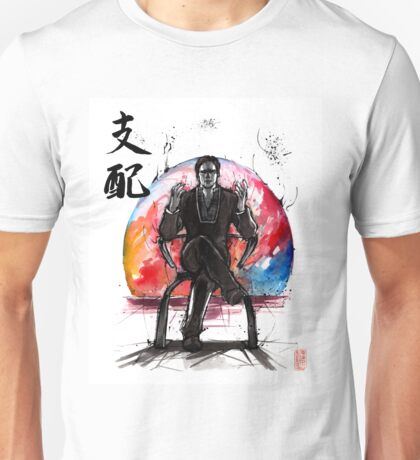 Illusive Man from Mass Effect with calligraphy Unisex T-Shirt