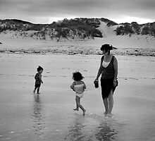 Frolicking Fun Family by Peter Evans