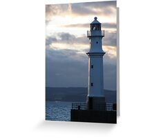 Newhaven Lighthouse 2 Greeting Card