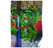 Abstract Graffiti Wall Art Photography - 3 Poster