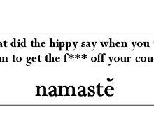 namaste by bellandthebeast