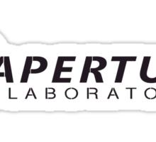 Aperture Laboratories (3) Sticker