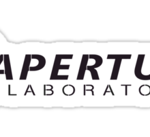 Aperture Laboratories (3) Sticker