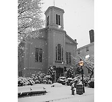 Winter At the Bethel Photographic Print