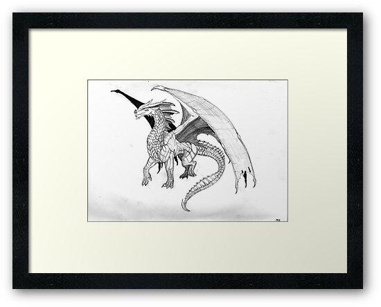Dragon by Matthew Chamberlain-Keen