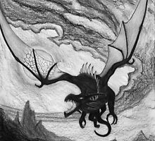 Swooping Dragon by Matthew Chamberlain-Keen