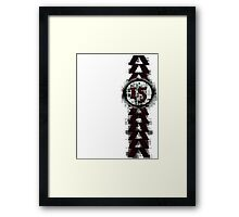 Destiny 2015 Hunter Class stripe Framed Print