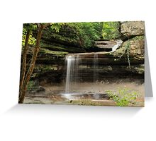LaSalle Canyon - Starved Rock State Park Greeting Card