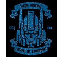 Legend Of Cybertron - Ultra Magnus Photographic Print