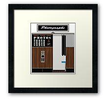 1970'S Photobooth Framed Print