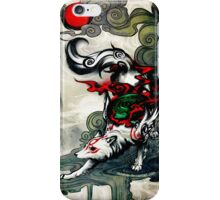 Okami Wolf iPhone Case/Skin
