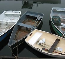 Rockport Rowboats 1 by Judi FitzPatrick