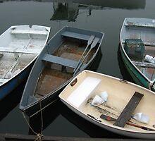Rockport Rowboats 1 by Judi FitzPatrick
