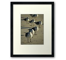 We Like It Together Framed Print