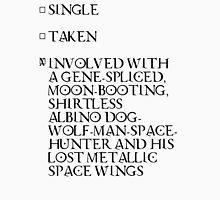 Jupiter Ascending Single, Taken, Involved with Caine Wise Unisex T-Shirt