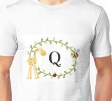 Nursery Letters Q Unisex T-Shirt