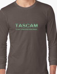 Tascam Silver Green Long Sleeve T-Shirt