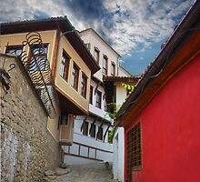 an old city by Sergieiev