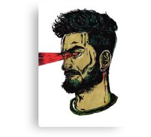 Laser Guy - I think I have Super Powers Canvas Print