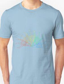 Rainbow Rabbit Skull Unisex T-Shirt