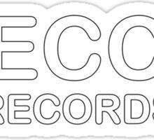 Decca Records  Sticker