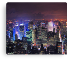 Times Square Is Glowing Canvas Print