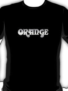 Orange  Amps  Silver  T-Shirt