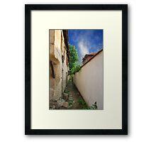 an old city Framed Print
