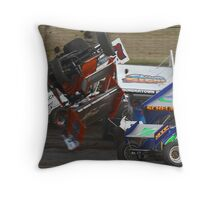 In the thick of it Throw Pillow
