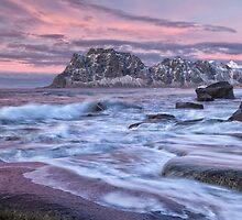 Uttakleiv, Norway by Curtis Budden
