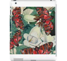 moth and botany 3 iPad Case/Skin