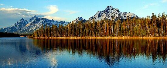 Teton Sunrise by Bob Moore