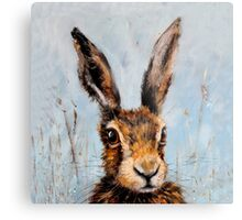 Holly Hare Metal Print