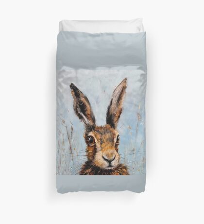 Holly Hare Duvet Cover