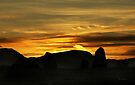 Sunset over Castlerigg Stone Circle by David Robinson