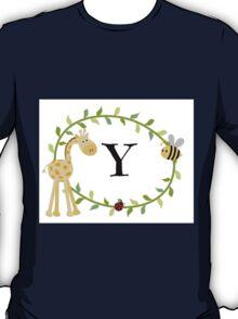 Nursery Letters Y T-Shirt