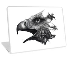 Like Smoke - Eagle with Kingfisher, Flying Foxes and Betta Fish Laptop Skin