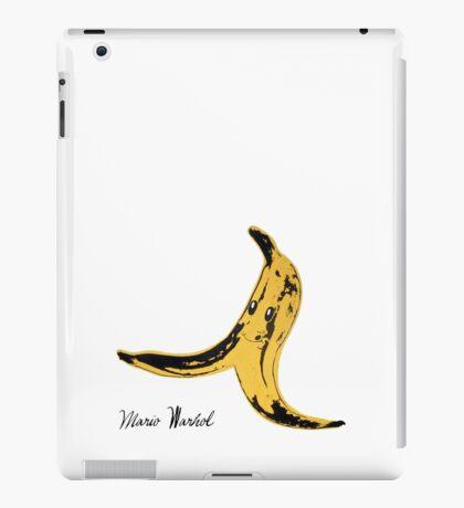 Mario Warhol iPad Case/Skin
