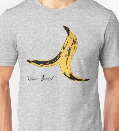 Mario Warhol Unisex T-Shirt