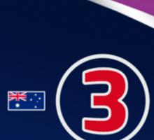 F1 2015 - #3 Ricciardo Sticker