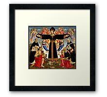 Master of the Fiesole Epiphany Framed Print