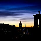 Edinburgh Skyline by David Queenan