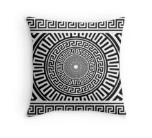 Greek pattern Throw Pillow